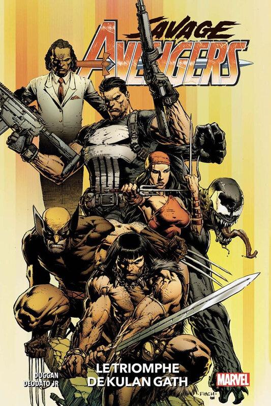 100% marvel savage avengers 01 le triomphe de kulan gath