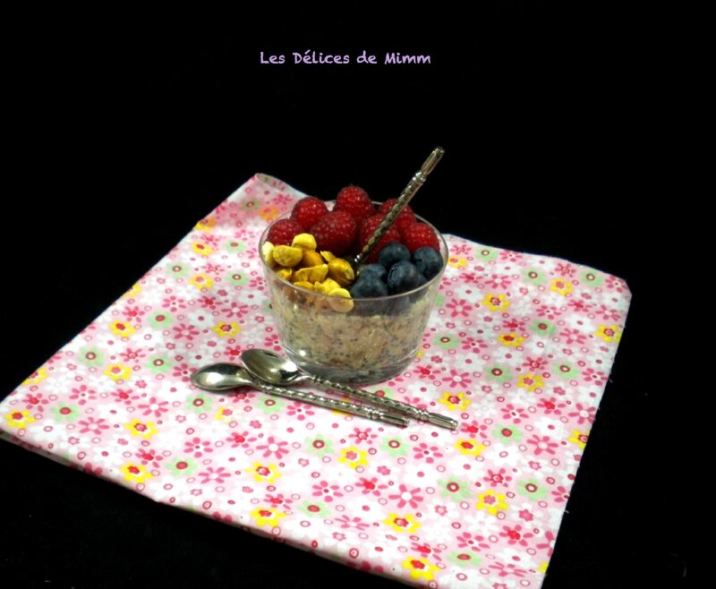 Overnight porridge ou porridge du lendemain 2