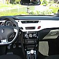 DS3 Radio cd MP3 et option planche de bord blanc