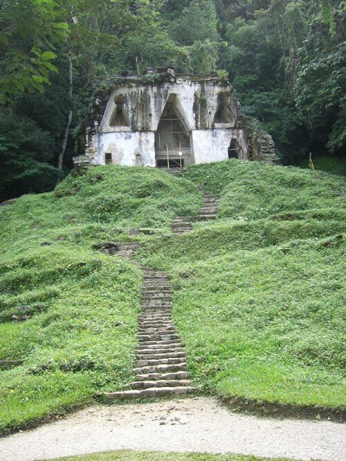 Palenque - Temple of the Foliated Cross
