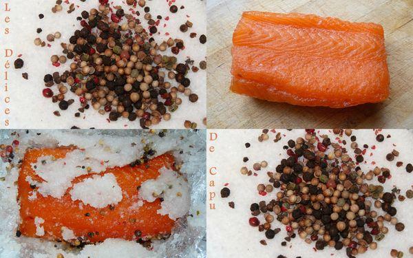 gravlix de saumon