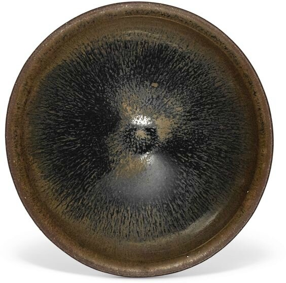 A 'Jian' black-glazed 'hare's fur' bowl, Song dynasty
