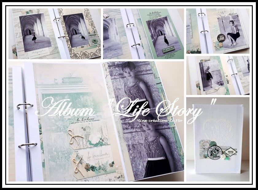 "Album ""Life Story"" avec la collection ""Parfum de roses"""