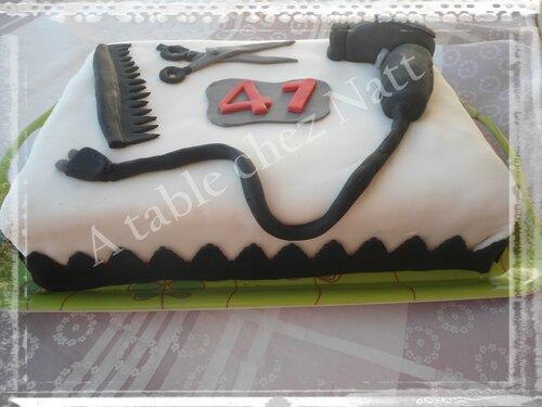 gâteau coiffure 2