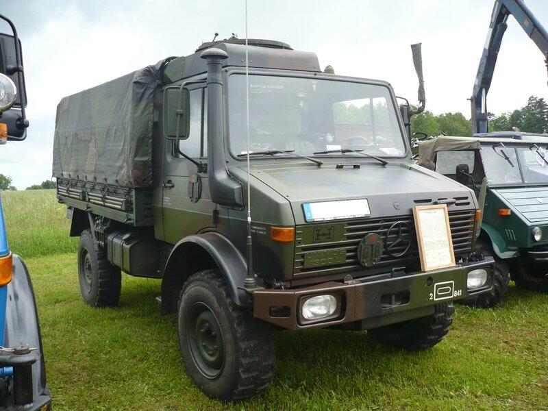 UNIMOG 1300L camion militaire bâché Bad Teinach - Schmieh (1)