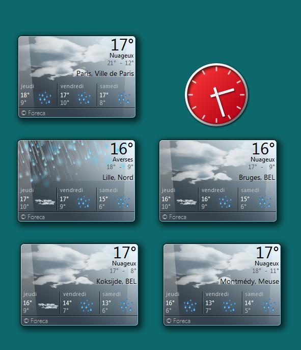 température de ce 8 mai