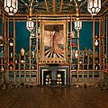 Darren waterston recreates peacock room as a magnificent ruin at the smithsonian's sackler gallery