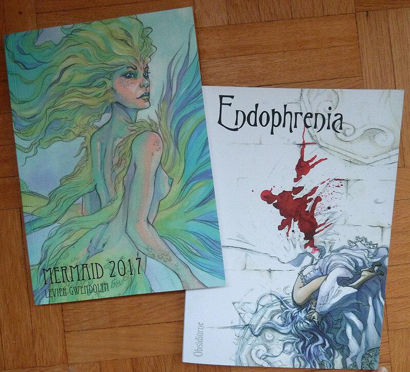 fanzines Mermaid 2017 Zibidulle et Endophrenia 2009 Morgil&ValR