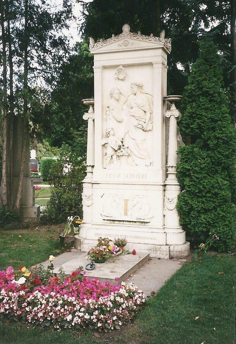 Vienne, cimetière central, Schubert (Autriche)