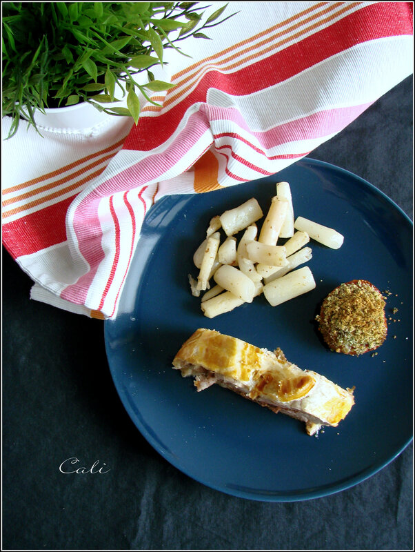 Filet Mignon en Croûte au Pesto Rouge & Olives Noires 002