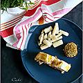 Filet mignon en croûte au pesto rouge & olives noires