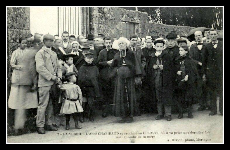 Abbé Chabirand La Verrie 1906