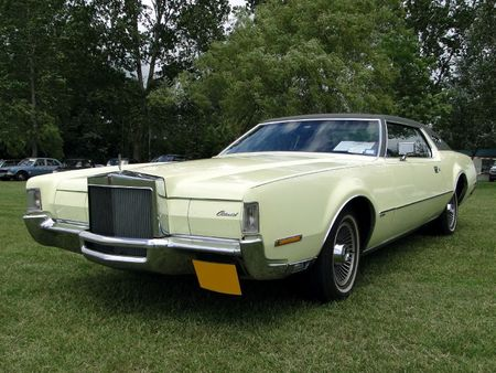 LINCOLN Continental Mark IV Hardtop Coupe 1972 Retro meus Auto Lac de Madine 2010 1