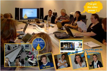 blog dailymotion locaux formation video