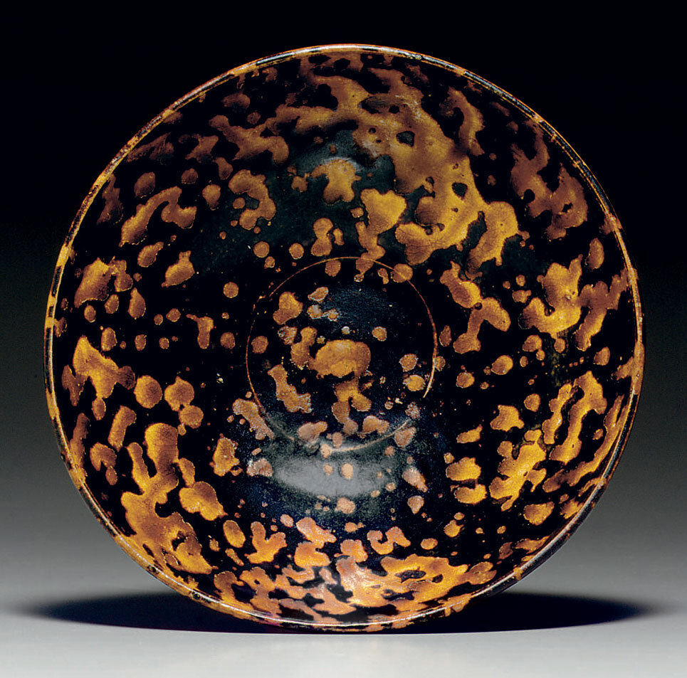 A Jizhou 'Tortoiseshell-Glazed' Bowl, Southern Song Dynasty, 12th-13th Century