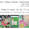 Sneek peak: mini album façon carrousel