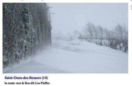 st ouen les besaces neige