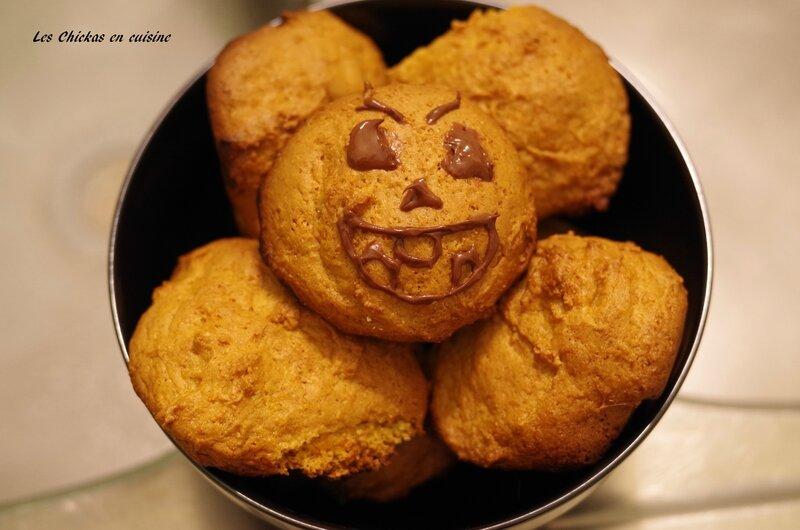 Cookies au potiron et farine pain d'épices (5)