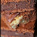 P'tit brownie chocolat noir et haricots rouges