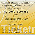 The long blondes - jeudi 29 mars 2007 - trabendo (paris)