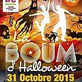 BOUM d'Halloween 31 octobre 2015