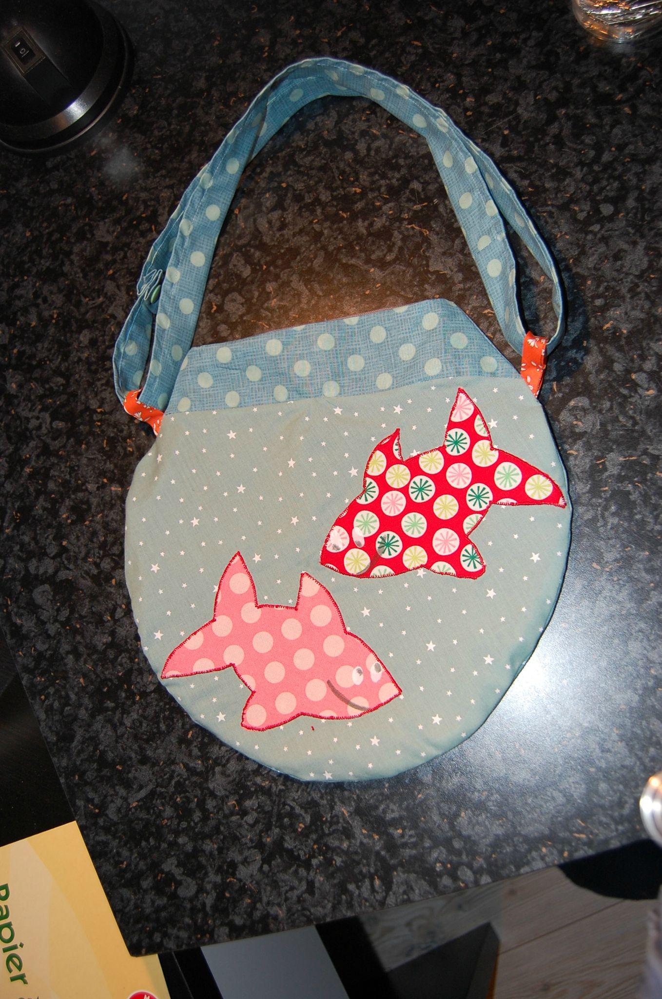 sac bocal à poissons Laetibricole pour Manon