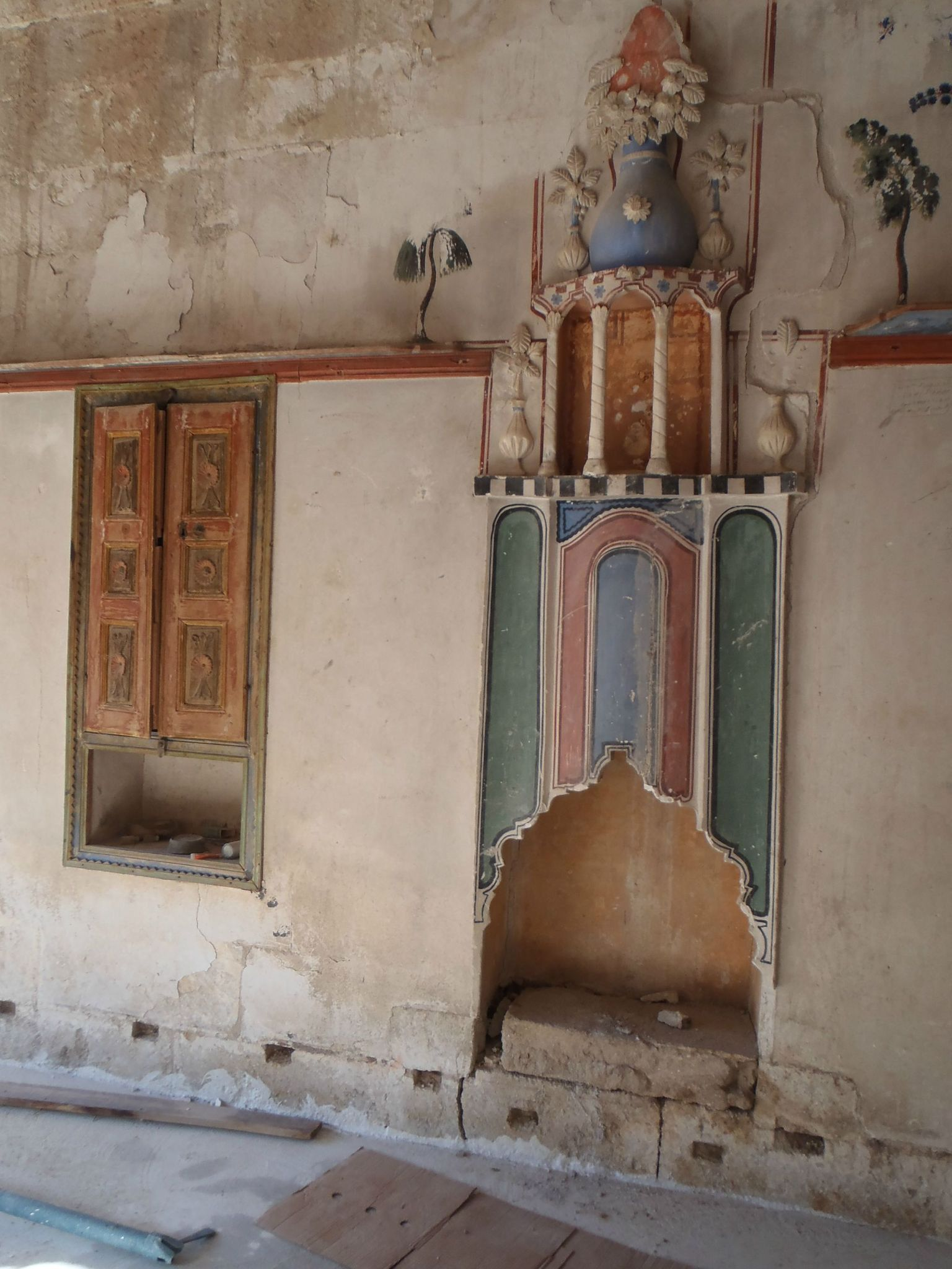 turquie cappadoce cheminee restaurée maison voisins