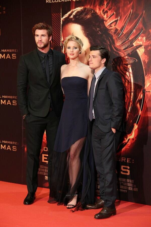 Catching Fire Premiere Madrid01