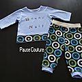Pyjamas pour grand bébé