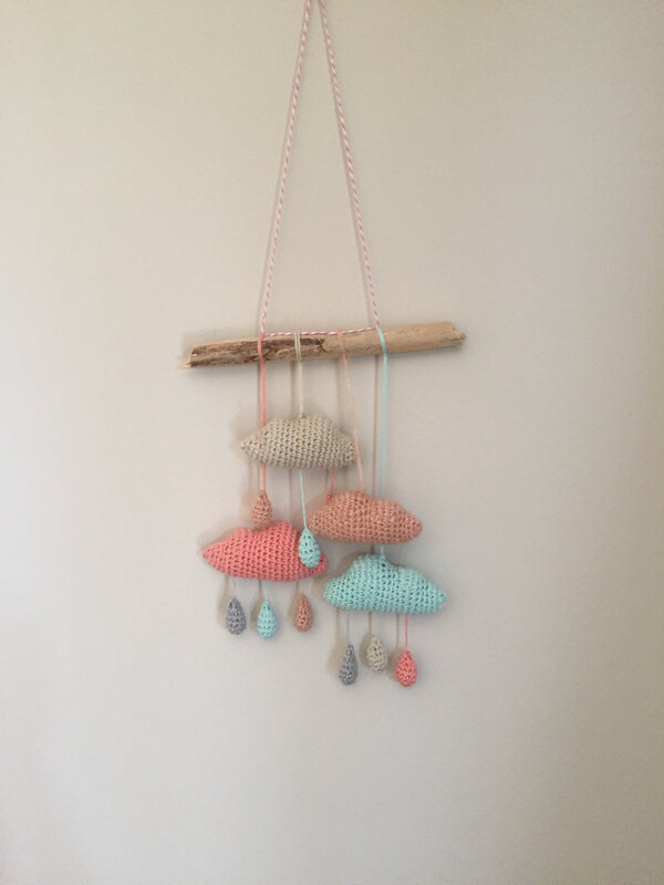 nuage, crochet