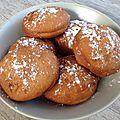 Paczki (beignets polonais dits ponchki)