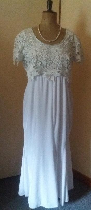 robe marié devant