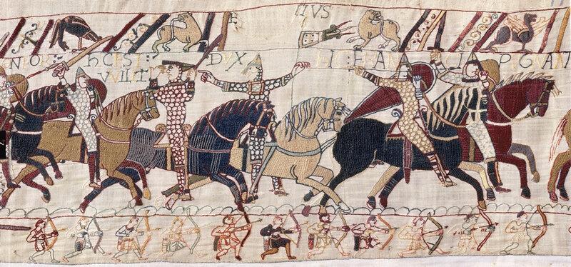 14 octobre 1066 - Les Chevaliers du Poitou à la conquête de l'Angleterre avec Guillaume le Conquérant
