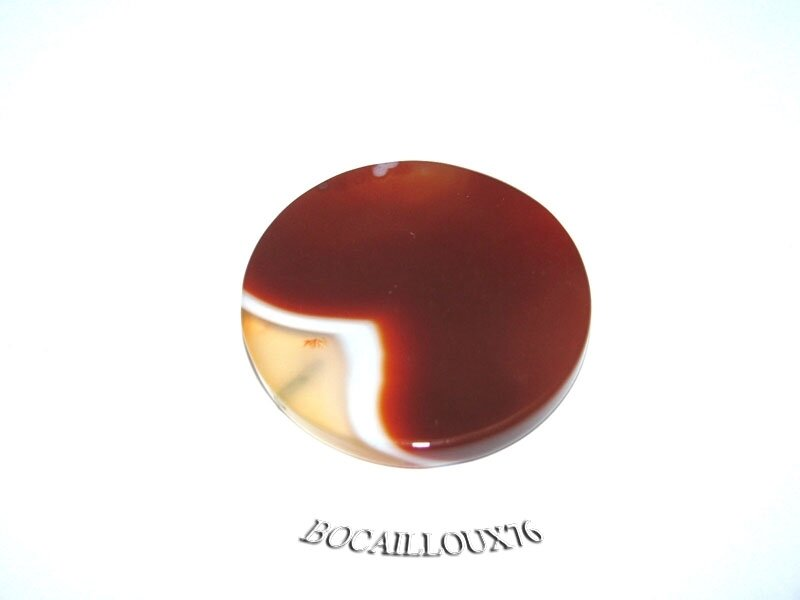 AGATE Orange Disque 4 (3)