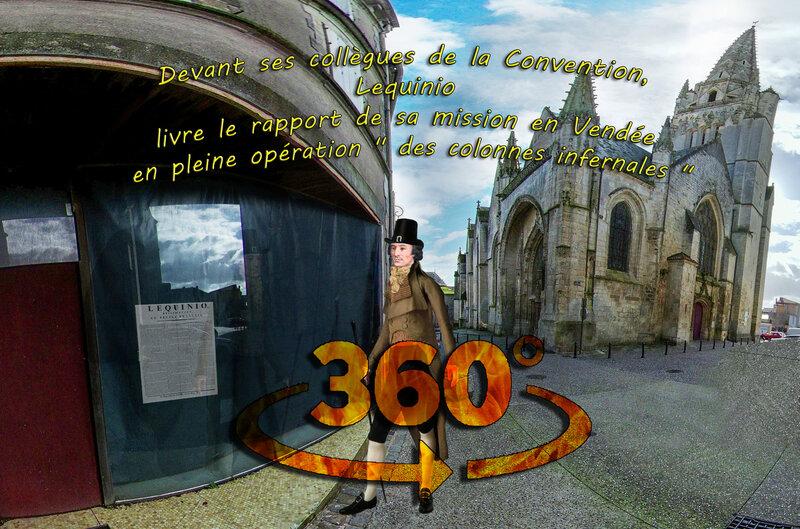 Devant ses collègues de la Convention, Lequinio livre le rapport de sa mission en Vendée en pleine opération des colonnes infernales