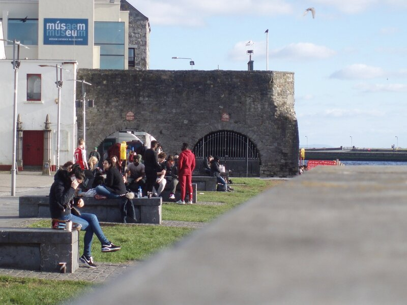 The Spanish Arch Claddagh - Galway