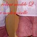 Short à volant modèle q - livre mademoiselle