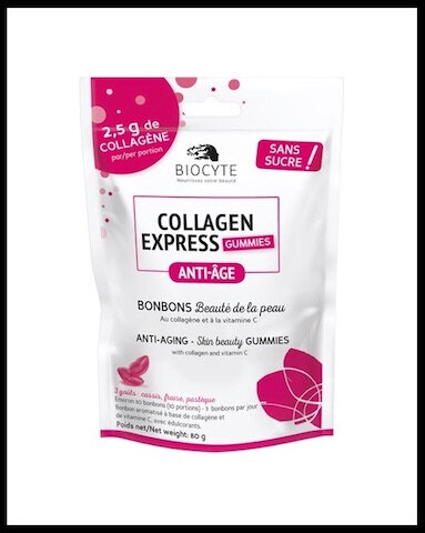 biocyte collagen express gummies bonbons collagene 2