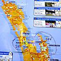 69 CARTES ILE DU NORD NZ