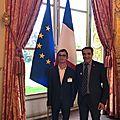 Duo day 2019 : théo de l'impro à l'assemblée nationale sur l'invitation de monsieur le député belkhir belhaddad
