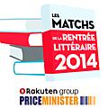 Les matchs de la rentrée littéraire 2014 avec priceminister