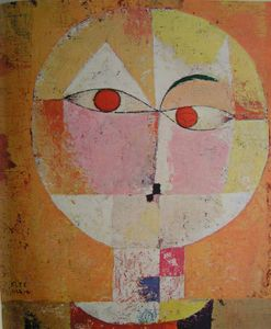 reproduction oeuvre de Klee Senecio 1922