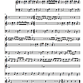 Busted (partition - sheet music) 01