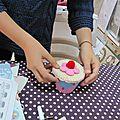 Atelier cupcake ... en feutrine