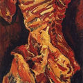 chaim soutine's 'piece de boeuf' returned to private ownership in first-of-its-kind settlement