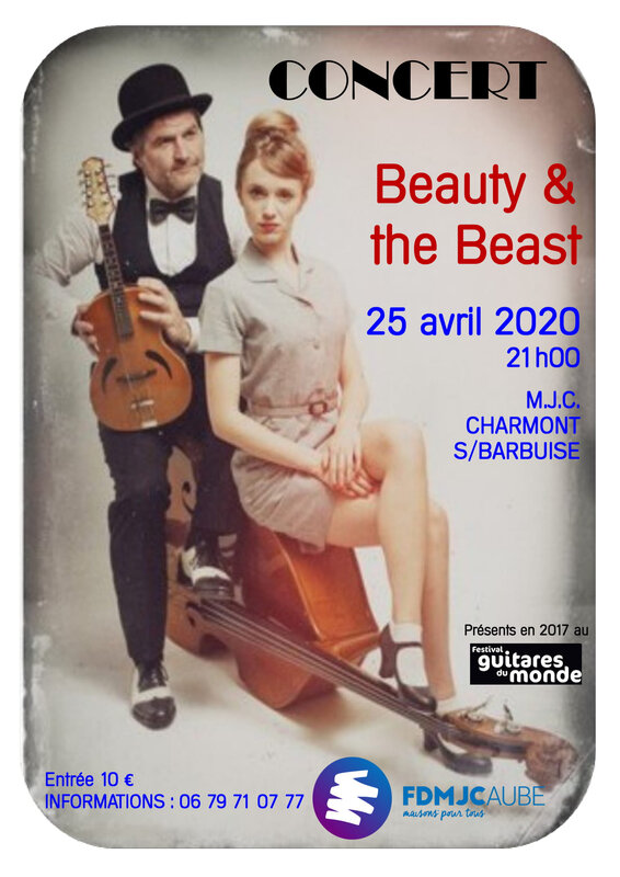 2020 Affiche Beauty and the Beast A4-1