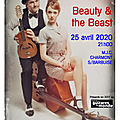 Concert - beauty & the beats - 25 avril 2020