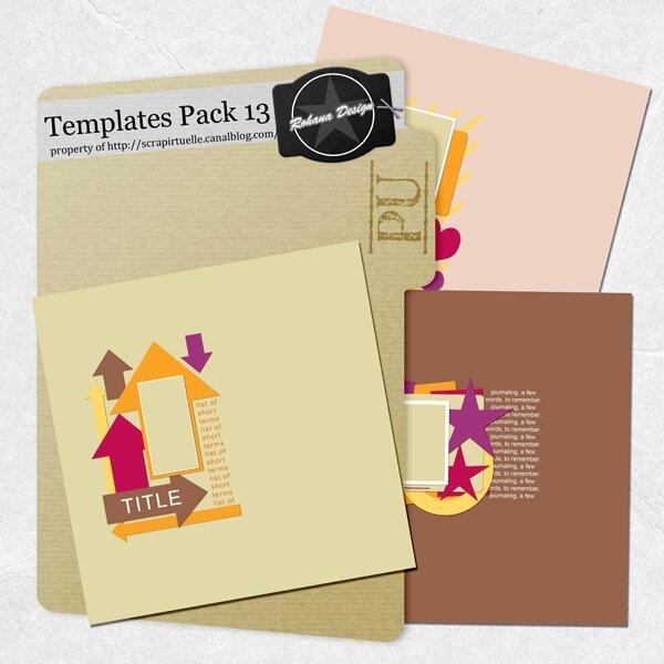 boite templates