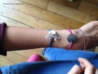 Le bracelet Sainte Trinité de Philippine