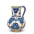 An iznik cintamani pottery jug, turkey, circa 1570